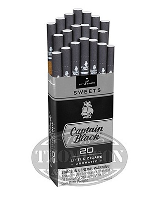 Captain Black Sweets Natural Filtered Sweet