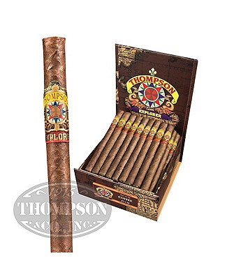 Thompson Explorer Flavors Panetela Habano Coffee