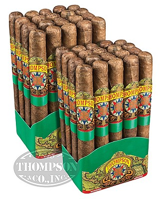 Thompson Explorer Green Label Habano Corona 2-Fer