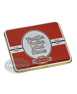 Victor Sinclair Vanilla Vodka Mini Shots Cigarillo 5 Tin Pack