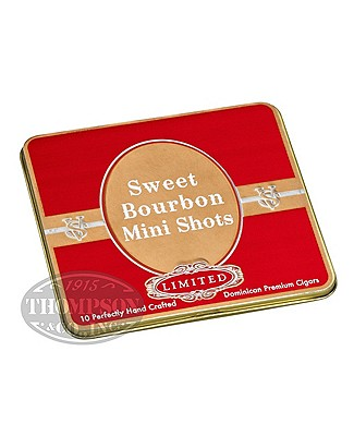 Victor Sinclair Sweet Bourbon Mini Shots Cigarillo 5 Tin Pack