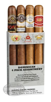 Dominican Four Cigar Assortment Sampler