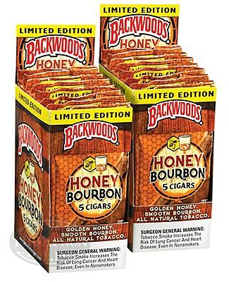 Backwoods Cigarillo Natural Honey Bourbon 2-Fer