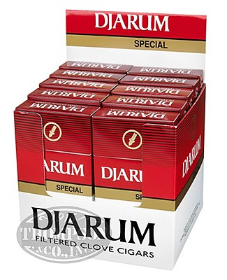 Djarum Special Blend Natural Filtered Cigarillo Clove