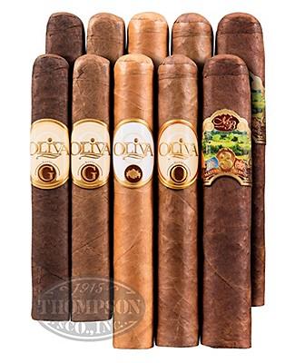 Oliva 10 Cigar Robusto Sampler