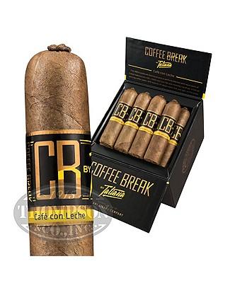 Tatiana Coffee Break Cafe Con Leche 40 Natural Petite Corona Coffee