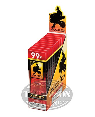 Acid Red Natural Cigarillo Infused 2-Fer