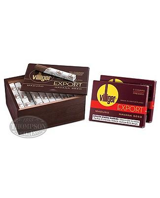 Villiger Export Maduro Cigarillo Plus 10pk