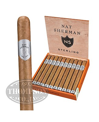 Nat Sherman Churchill Ecuador Sterling