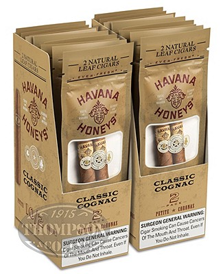 Havana Honey Cigarillo Natural Cognac Classic Cognac
