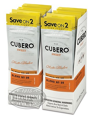 Cubero Cigarillo Natural Sweet 2-Fer