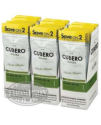 Cubero Cigarillo Natural Mocha 3-Fer