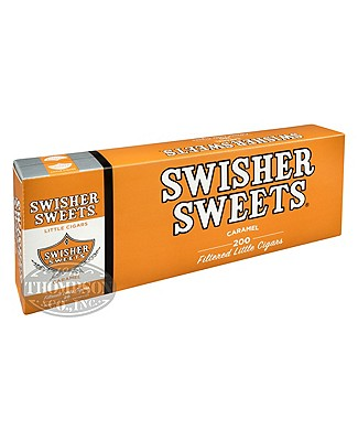 Swisher Sweets Little Cigars Filtered Cigarillo Natural Caramel