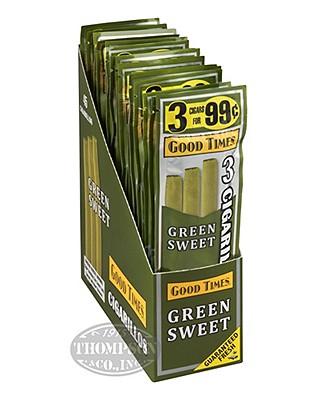 Good Times Mini Cigarillo Natural Sweet
