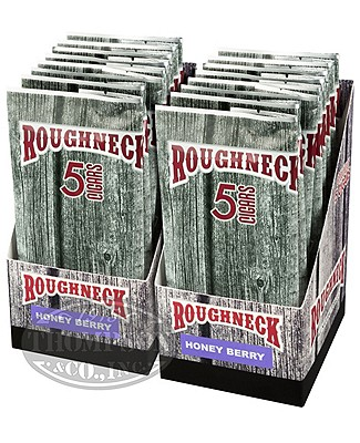 Roughneck Tips Cheroot Natural Honey Berry 2 Fer