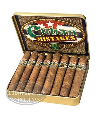 Cuban Mistakes Flavors Petite Corona Sumatra Amaretto Tin