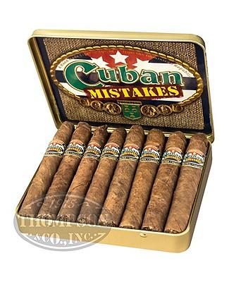 Cuban Mistakes Flavors Petite Corona Sumatra Honey