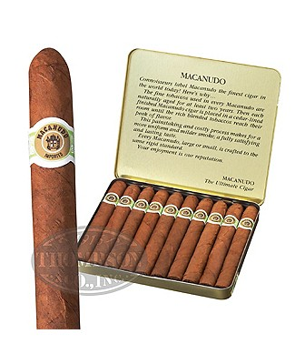 Macanudo Cafe Ascots Connecticut Cigarillo