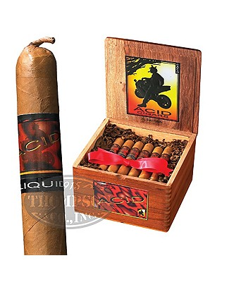 Acid Liquid Connecticut Robusto Infused