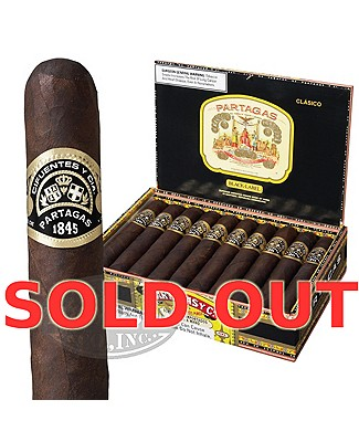 Partagas Black Label Gigante Sun Grown Gordo Plus Partagas Rocks Glasses
