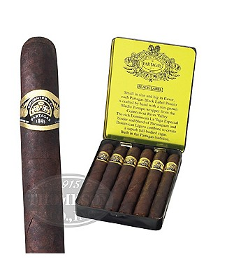 Partagas Black Label Prontos Sun Grown Cigarillo