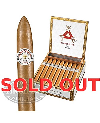 Montecristo White Label No.2 Connecticut Belicoso Plus Montecristo Cutter