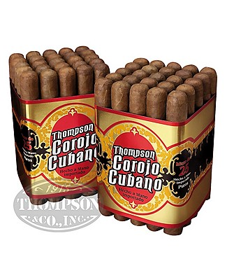 Thompson Corojo Cubano Corojo Churchill 2-Fer - 50 Cigars