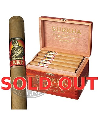 Gurkha Special Edition Corona Connecticut
