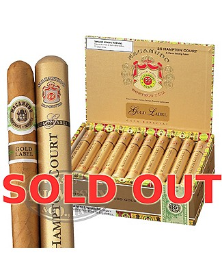 Macanudo Gold Label Duke Of York Plus Humidor Connecticut Robusto