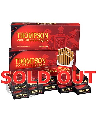 Thompson Filtered LaRGe Cigar Natural Full 3-Fer