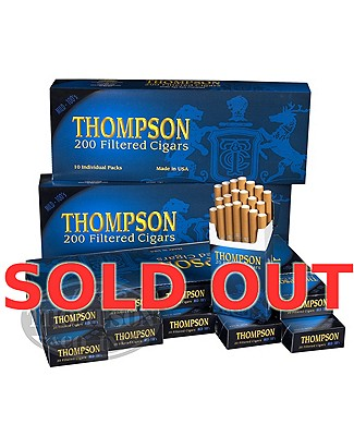 Thompson Filtered LaRGe Cigar Natural Mild 3-Fer