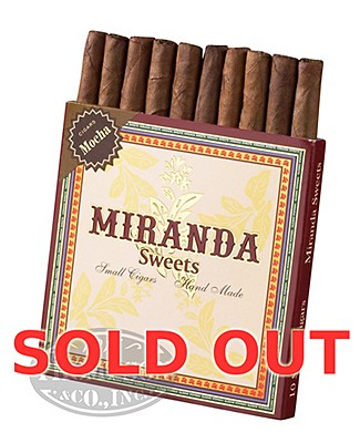 Miranda Sweets Mocha Coffee Infused Mini Cigarillo Sumatra