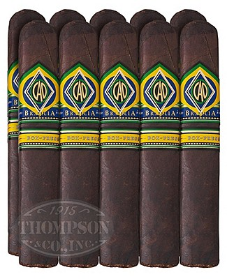 CAO Brazilia Box Press Brazilian Gordo 5 Pack