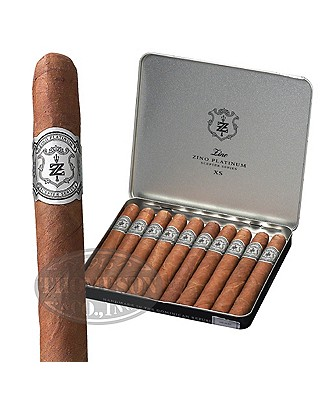 Zino Platinum Scepter Series Xs Tins Connecticut Cigarillo