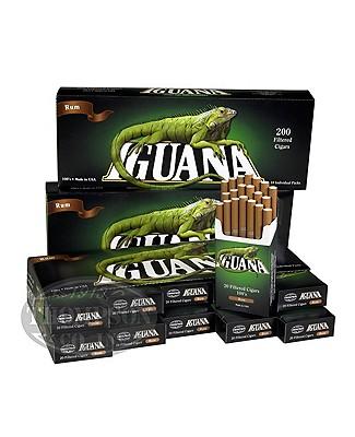 Iguana Little Cigars 3-Fer Natural Filtered Rum