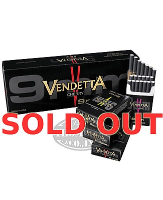 Vendetta Cherry Natural Filtered Full