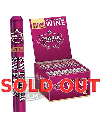Swisher Sweets Wine Natural Cigarillo