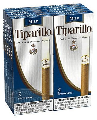 Tiparillo Mild Blue Cigarillo Natural 2-Fer