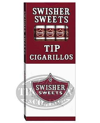 Swisher Sweets Tipped Cigarillo Natural Cigarillo Sweet