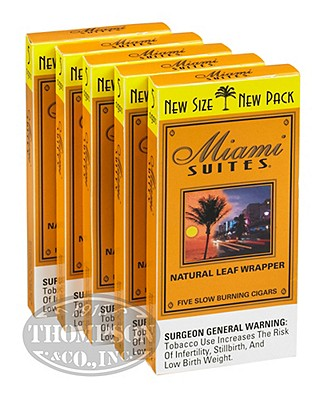 Miami Suites Rum Natural Cigarillo