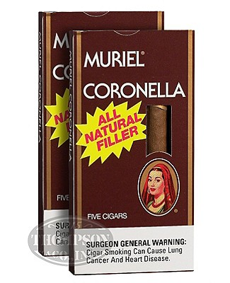 Muriel 3-Fer Natural Cigarillo