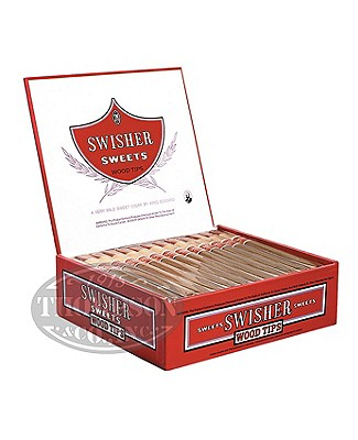 Swisher Sweets Wood Tip Natural Cigarillo Sweet