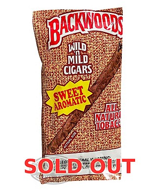 Backwoods Sweet Maduro Cigarillo 2-Fer Plus Honeyberry 5pk