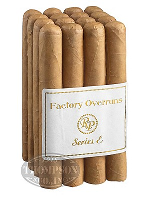 Rocky Patel Factory Overruns Series E Robusto Connecticut
