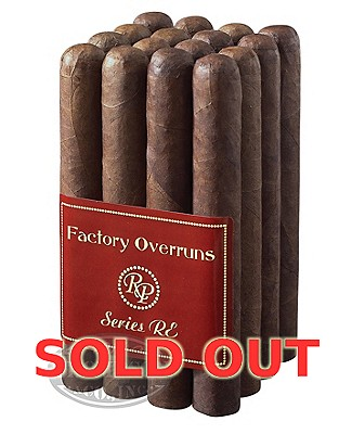 Rocky Patel Factory Overruns Series Re Churchill Sumatra