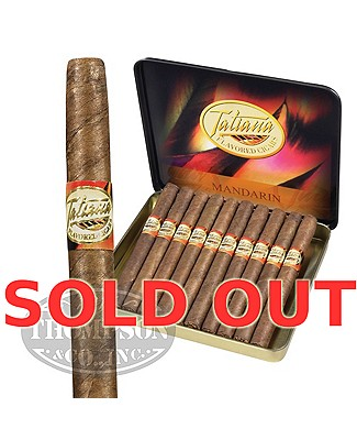 Tatiana Cigarillo Natural Mandarin