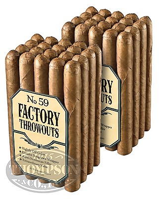 Factory Throwouts No. 99 Sun Grown Churchill 2-Fer