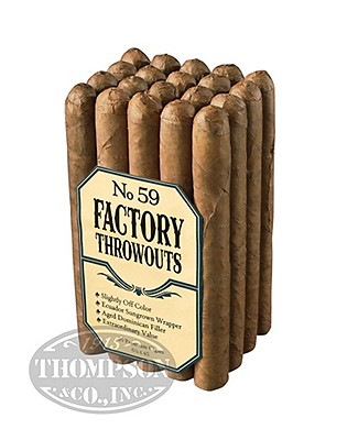 Factory Throwouts No. 99 Sun Grown Churchill