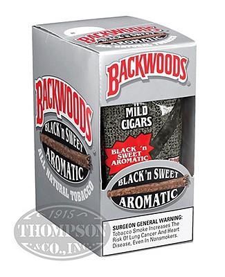 Backwoods Black & Sweet Natural Cigarillo Sweet 2-Fer