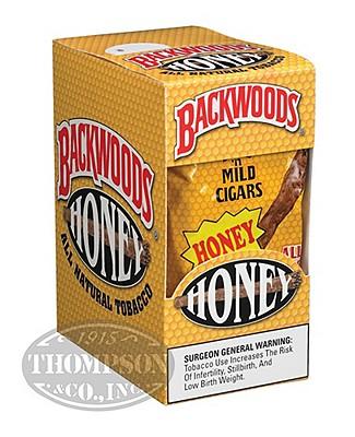Backwoods Cigarillo Natural Honey 2-Fer